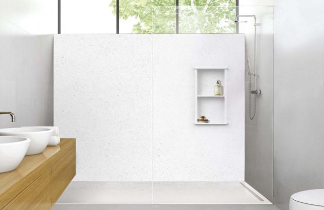 Panneaux muraux, niches et profilés Déco-douche de la marque Lazer
