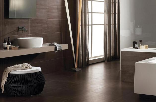 Salle de bains moderne et design