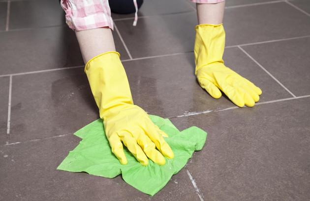 Nettoyage de carrelage