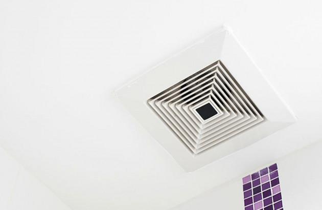 ventilation mécanique ponctuelle