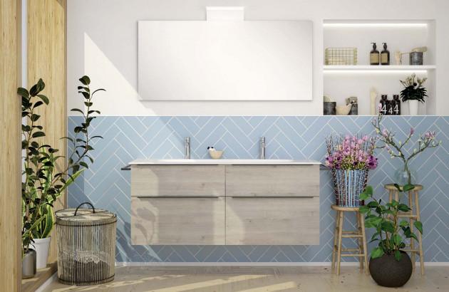 Meuble de salle de bains Style 2 de la marque Burgbad