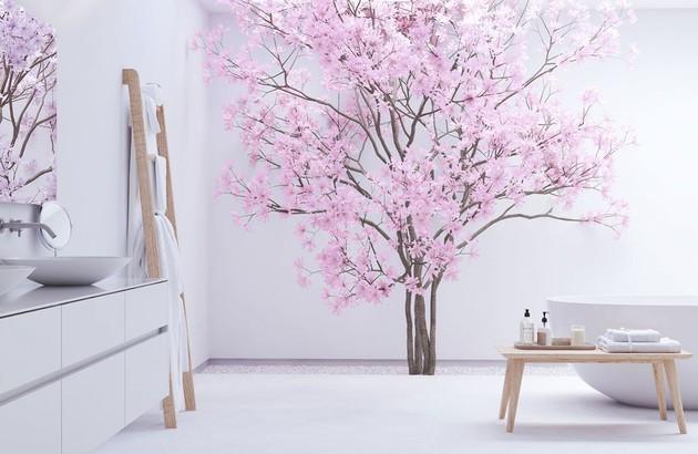Salle de bains zen d'inspiration japonaise