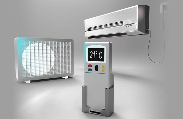 Illustration d'une climatisation split