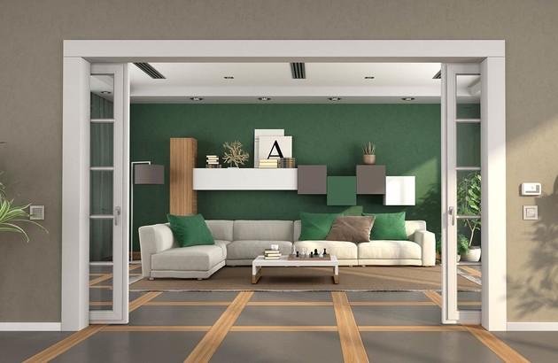 visuel d'ambiance d'une pièce à vivre