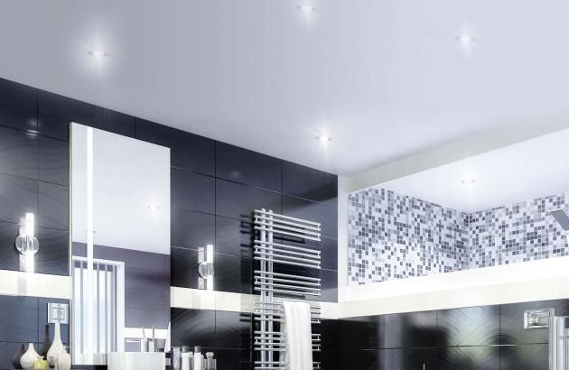 Les spots encastrés sont des éclairages idéal pour la salle de bains