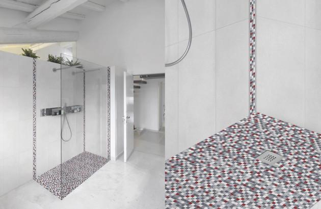 Choisir la Mosaïque pour douche à l\'italienne | Espace Aubade