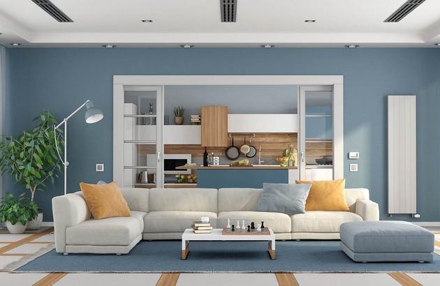 image d'ambiance d'une pièce à vivre