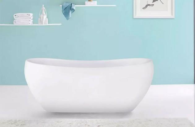 Baignoire ilot Cosibelle de forme ovale