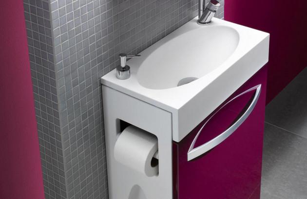 Le Lave Mains Idéal Dans L Espace Toilettes Espace Aubade