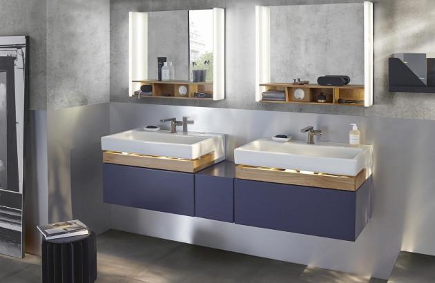 Pourquoi adopter le bleu dans la salle de bains ? | Espace ...
