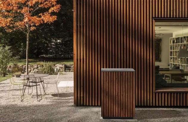 Chauffage à énergie renouvelable à l'extérieur