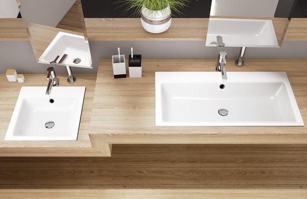 Vasque à encastrer rectangulaire Puro Kaldewei