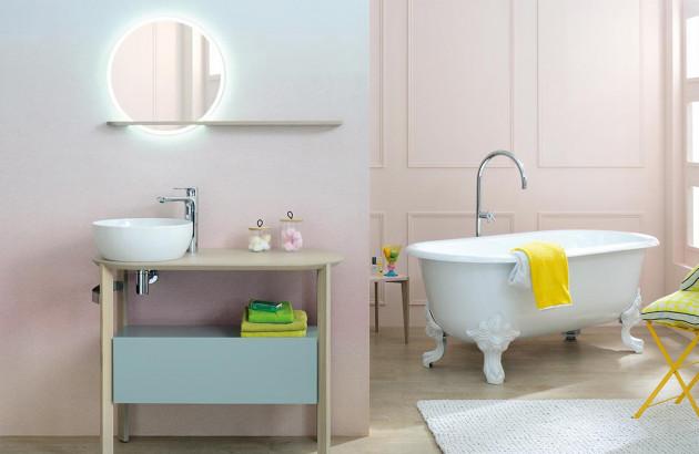 Meuble de salle de bains inspiration scandinave
