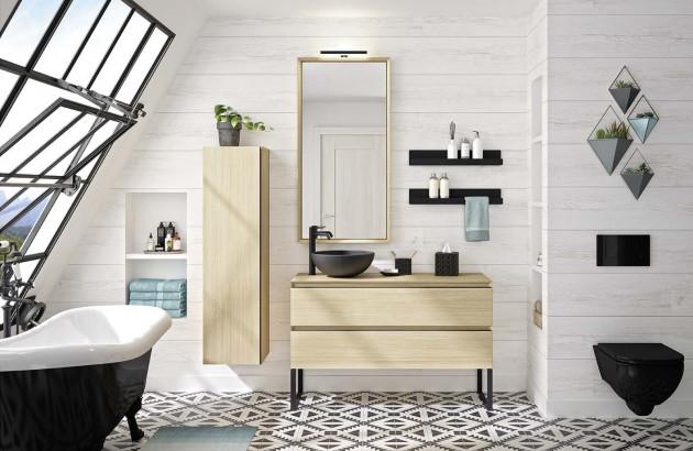 Meuble de salle de bain Oakwoodde la marque Cedam