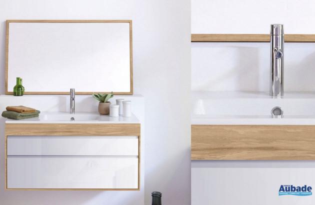 Meuble en chêne et céramique Streamline de LineArt