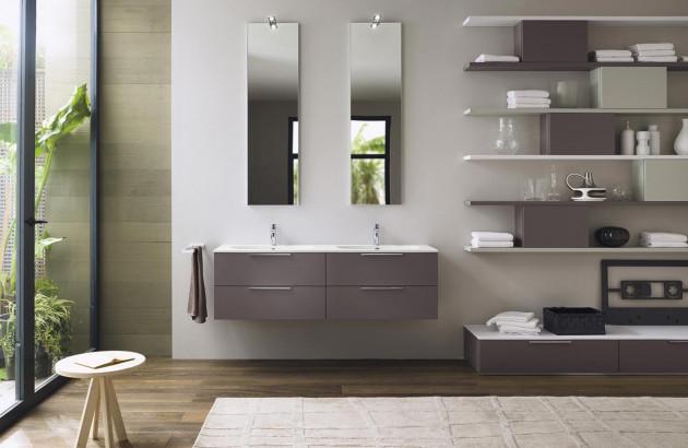 Meuble de salle de bains Progetto de Inda