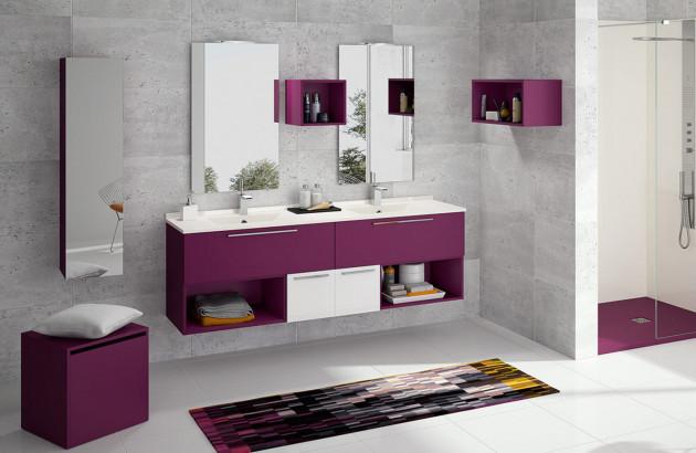 Meuble de salle de bains My Akido de Ambiance Bain