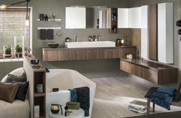 meuble salle de bains UNIQUE ORIGINE de DELPHA