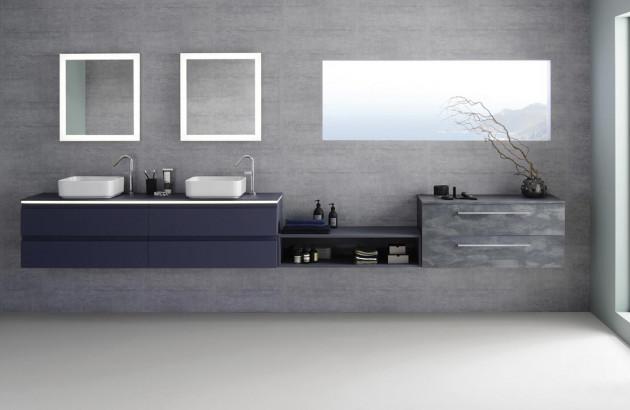 Meuble de salle de bains Halo de Sanijura