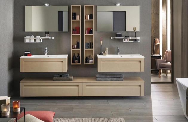 Meuble de salle de bains Unique Wood de Delpha