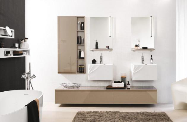 Meuble de salle de bains Unique Pure de Delpha