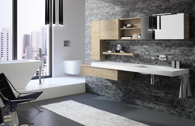 Meuble de salle de bains Extenso de Cedam
