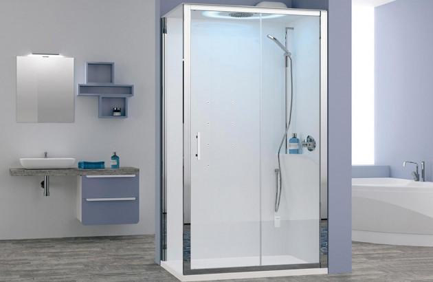 Cabine de douche intégrale Eon de Novellini