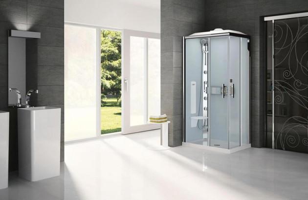 Cabine de douche intégrale Glax de Novellini