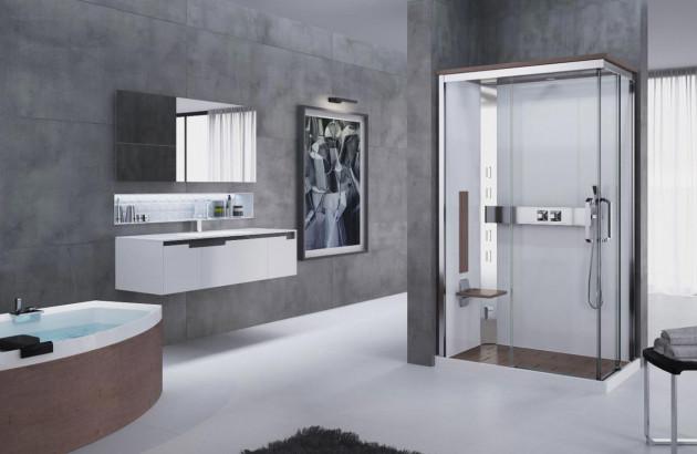 Cabine de douche intégrale Nexis A90 de Novellini
