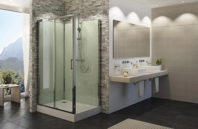 Cabine de douche intégrale Modul'R de Sanswiss