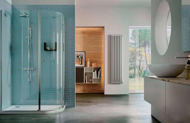 Cabine de douche intégrale Sintesi de Vismara Vetro