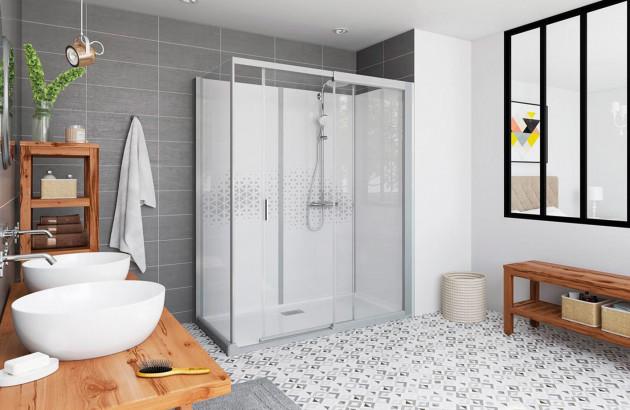Cabine de douche intégrale Graphic de Kinedo