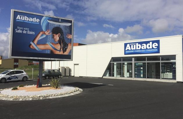 Salle d'exposition Espace Aubade pour trouver votre inspiration douche italienne