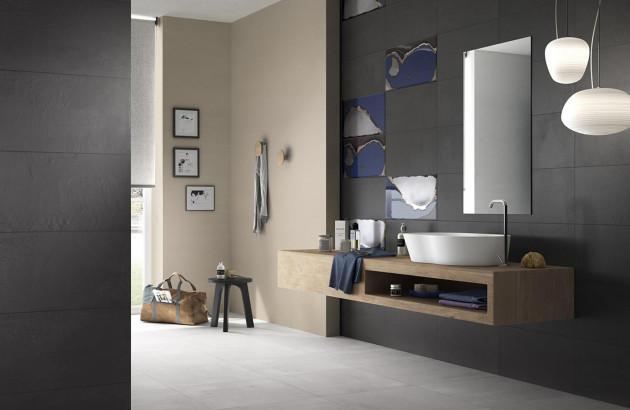 Salle de bains tendances Créacon d'Imola