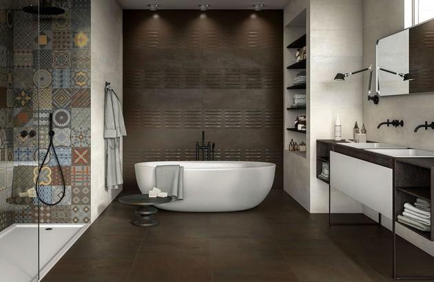 Quel carrelage choisir pour une salle de bains r tro - Quel couleur pour une salle de bain ...