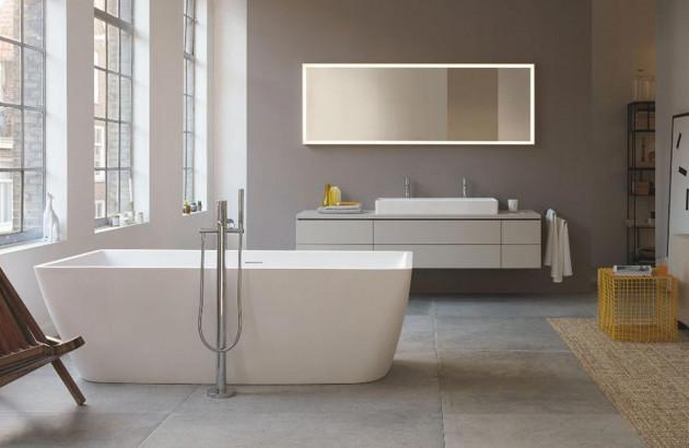 Léger et confortable l'acrylique fait mouche avec la baignoire IDEAL STANDARD TONIC 2