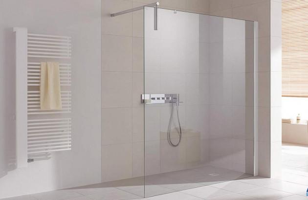 Grande paroi de douche