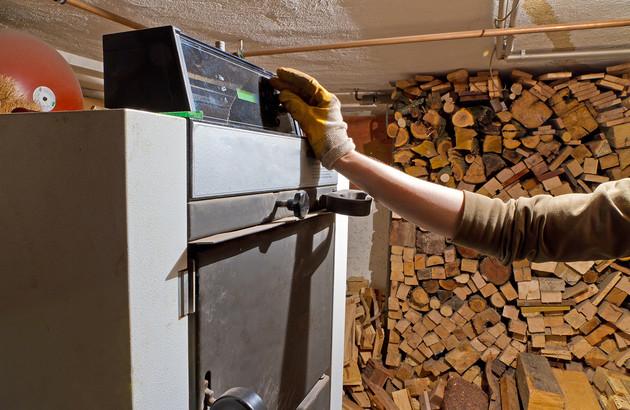 Chaudière à bois déchiqueté entretenu par un professionnel