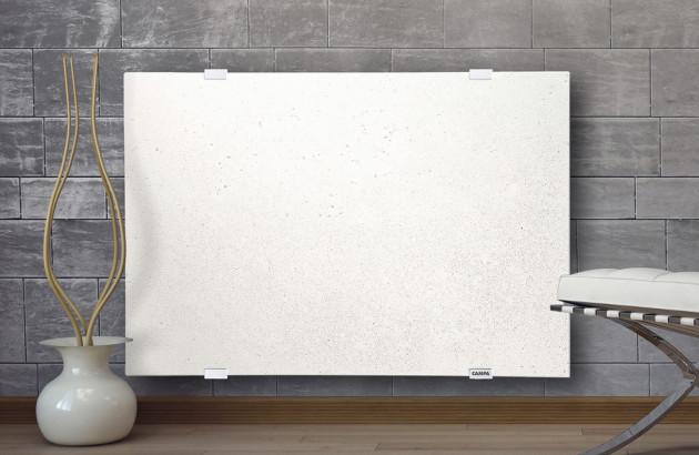 Panneau rayonnant horizontal blanc