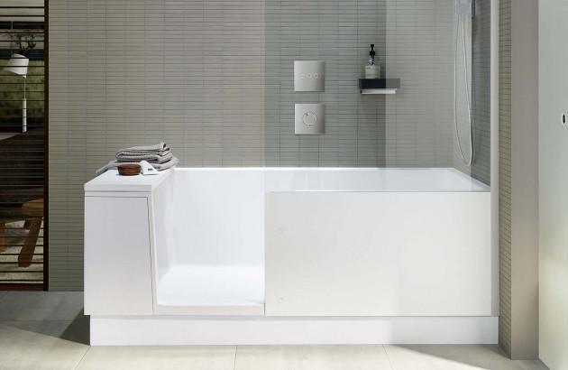 Baignoire Shower and Bath de la marque Duravit