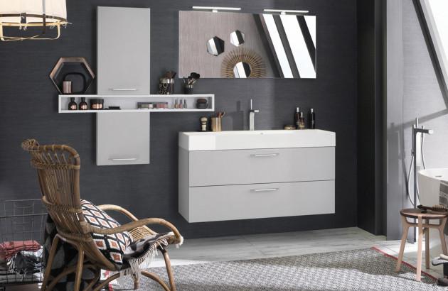 Installez votre salle de bains sous les combles | Espace Aubade
