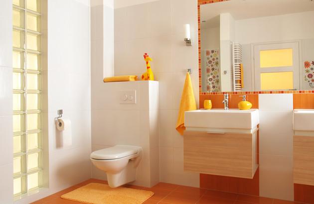 salle de bain accessoirisées pour les enfants