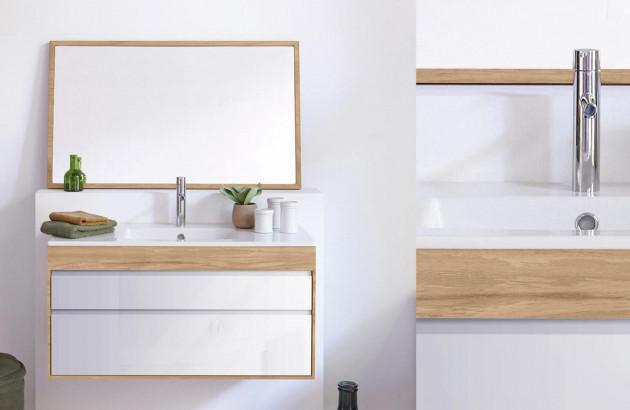 Salle de bain scandinave ou rustique: le Bois | Espace Aubade