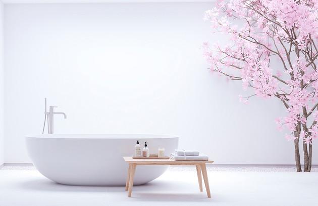 Couleurs apaisantes pour une Salle de bains Zen | Espace Aubade