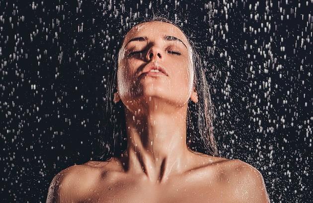 la douche pour un moment de détente