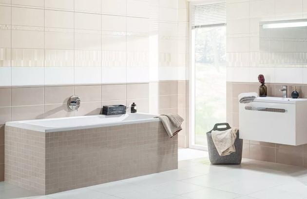 carrelage collection Chloe pour une salle de bains pleine de zenitude