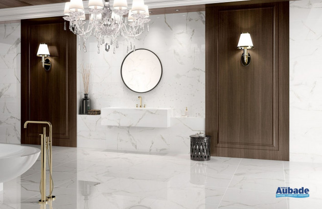 Carrelage imitation marbre Calacata