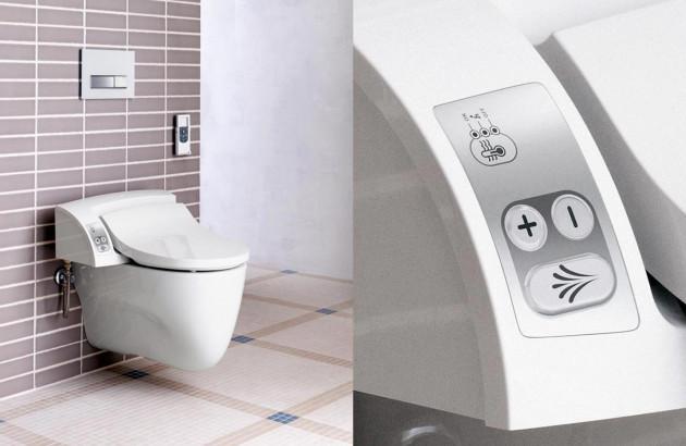 WC lavant abattant Aquaclean de Geberit