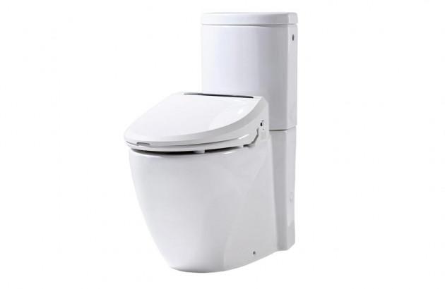 WC lavant multifonctions à poser de Dubourgel