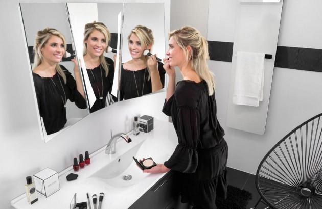 Miroir tridimensionnel par Delpha